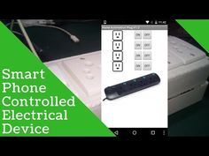 Smart Phone Controlled Electrical Appliances | IOT | ESP8266 | MIT APP Inventor - YouTube