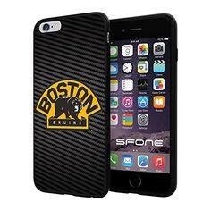 "Boston Bruins Carbon Fiber Design #1697 iPhone 6 Plus (5.5"") I6+ Case Protection Scratch Proof Soft Case Cover Protector SURIYAN http://www.amazon.com/dp/B00X4JKCB6/ref=cm_sw_r_pi_dp_.zhwvb14ZAFD9"