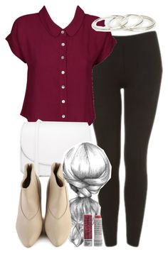 """Lydia Inspired Valentine's Day Outfit"" by veterization ❤ liked on Polyvore featuring Topshop, Don't Ask Amanda, Vagabond, Lupo, Korres and DailyLook"