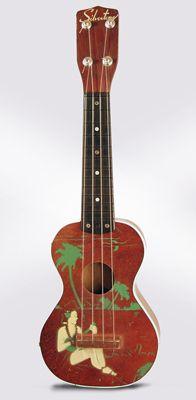 Silvertone Soprano Ukulele, made by Harmony , c. 1955