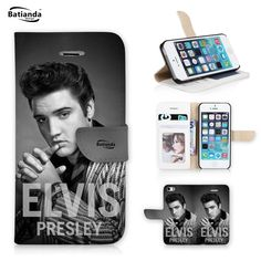 For iPhone 6 plus Case Elvis Presley Pattern Leather Phone Case For Apple iPhone 6S plus Cases Wallet Style Stand Flip Cover