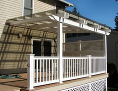 How To Cover A Porch | deck covering 425 827 4399 our deck covering trellis is custom ...