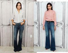 Prendas de la temporada: front pocket flare jeans Chloe, Prada, Flare Jeans, Bell Bottoms, Bell Bottom Jeans, How To Wear, Pants, Style, Fashion
