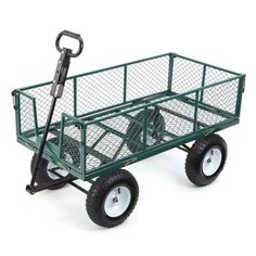 sweet garden carts home depot. Farm  Ranch Heavy Duty Steel Utility Cart with Removable Folding Sides and Pneumatic Tires This pull wagon can carry heavy loads ease The sides fold down
