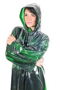 Afbeeldingsresultaat voor green plastic raincoat