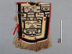 Chilkat potlach tunic. 1800-1850. UBC MOA collection. @cargocultist