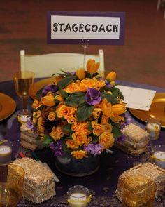 Wedding Is Done Western Purple And Yellow Decor Wedding Decor