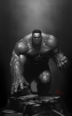 #Hulk #Fan #Art. (Doodle Hulk) By: InHyuk Lee. (THE * 3 * STÅR * ÅWARD OF: AW YEAH, IT'S MAJOR ÅWESOMENESS!!!™)[THANK Ü 4 PINNING<·><]<©>ÅÅÅ+(OB4E)