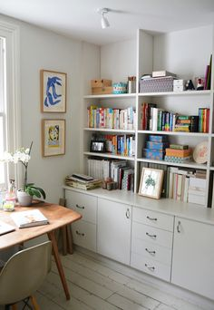 Office. Click through for the full Living With Kids home tour (you will LOVE this house).
