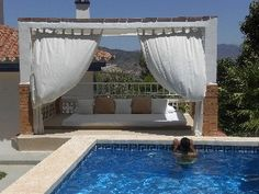 WiFi,+INCREDIBLE+VIEWS,+BADMINTON,+FOOTBALL,+TABLE+TENNIS,+PRIVATE+GATED+POOL+++Holiday Rental in Malaga area (Costa del Sol) from @HomeAwayUK #holiday #rental #travel #homeaway