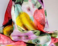 Foulards et écharpes en soie soie peint main par SOIEPEINTMAIN