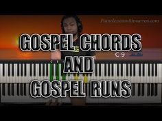 Gospel Chords and Gospel Runs Guitar Chords For Songs, Lyrics And Chords, Piano Music, Sheet Music, Music Wall, Boogie Piano, Music Lessons, Art Lessons, Piano Lessons For Beginners