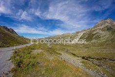 #Fluelapass #View In #Davos #Graubuenden #Switzerland In #Summer @depositphotos #depositphotos #nature #landscape #mountains #hiking  #travel #summer #season #sightseeing #vacation #holidays #leisure #outdoor #view #wonderful #beautiful #panorama #stock #photo #portfolio #download #hires #royaltyfree