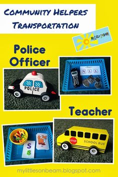 Community Helpers - Lesson plans, activities, and dramatic play ideas for community helpers