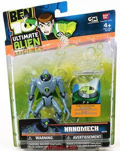 ben10toys | Ben 10 Nanomech Toy Ultimate Alien UA Action Figure | Flickr - Photo ...