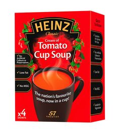 Heinz Cup Soup, Cream of Tomato