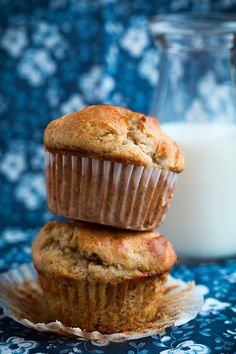 Gluten-Free Banana Muffins - you won't even be able to tell they are gluten free! These are so soft and moist and completely delicious!