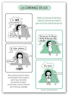 L'éducation positive en dessins ? La belle idée de Bougribouillons.