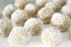 No Bake Coconut Dog Treats. 1/3 Cup Coconut Oil, 2-3 Tablespoons Peanut Butter, 2 1/2 Cups Rolled Oats, 1/3 Cup Finely Shredded Coconut.