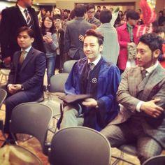 @treeJ_company: 2014.2.20 Twitter チャンベウ、卒業おめでとうございます。