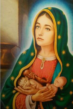 Prayer to Mary Most Holy for our children - In the Heart of Jesus Blessed Mother Mary, Blessed Virgin Mary, Lady Guadalupe, Bible Timeline, Prayers To Mary, Bible Qoutes, Prayers For Children, Christian Pictures, Queen Of Heaven