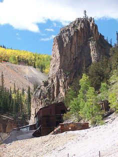 Old mine in Creede