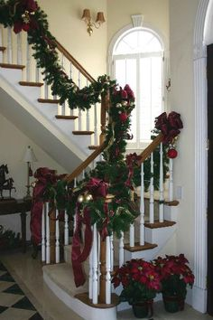 170 Best Christmas Staircase Decor Images Christmas Staircase