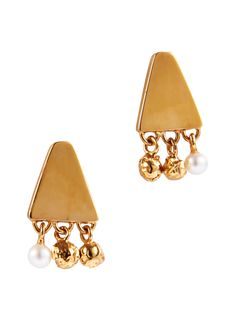 Lucy Folk presents DIP - NH: Spring/Summer 2014 / SH: Autumn/Winter 2014 - PEARLY PEPPER EARRINGS