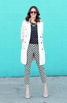 What I Wore: Polka Party, Jessica Quirk, @Jess Liu Quirk, Polka Dots