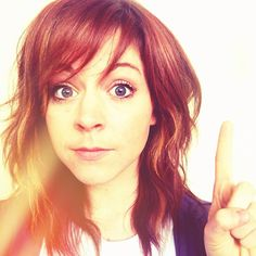 Lindsey Stirling, I love her hair @Katlin T. T. we should chop mine like it if i decide i dont wanna grow it out