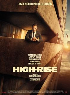 """A poster for """"High-Rise"""""""