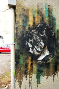 Snik New Street Piece In Stamford, UK StreetArtNews