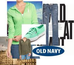 """""""Old navy tee #9"""" by kitty-wasch on Polyvore"""