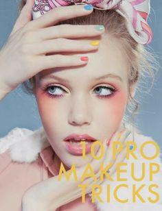 10 Pro Makeup Tricks