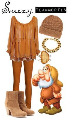 """Sneezy"" by teammortis ❤ liked on Polyvore"