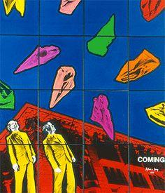 Gilbert & George - again! Gilbert & George, Damien Hirst, Contemporary Artists, Pop Art, Fine Art, Quilts, Creative, Image, England
