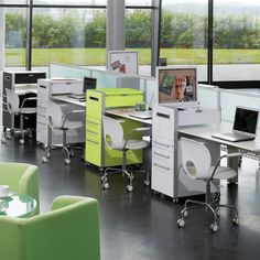 Modern office furniture by Apres Furniture; a leading consultancy & supplier of contemporary office furniture solutions. Refurbish you workspace with the use of modular office furniture to divide spaces including; Office Deco, Office Nook, Office Spaces, Desk Storage, Office Storage, Storage Ideas, Mobile Desk, Mobile Office, Mobile Storage Units