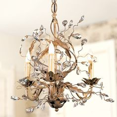 Bedroom Chandelier...Petite Claire Chandelier