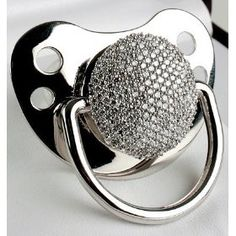 3ct Diamond Pacifier (278 Pave Set Diamonds)    How much do you love your baby ?  $17,000.00