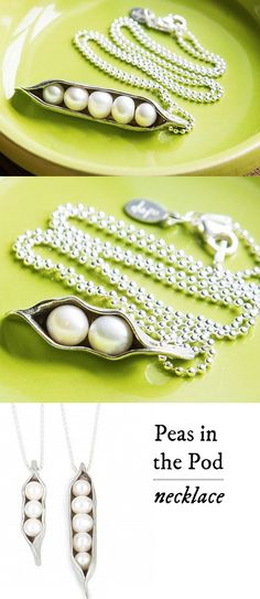 A beautiful keepsake gift for moms and grandmothers alike. I would want to get this for mom with 3 little pearls Diy Jewelry, Jewelry Box, Jewelry Accessories, Jewelry Making, Jewlery, Bling Bling, The Bling Ring, Just In Case, Just For You