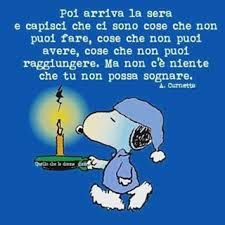Risultati immagini per snoopy peanuts frasi Peanuts Quotes, Snoopy Quotes, Rome Florence, Life Philosophy, Just Dream, Good Night Quotes, Meaningful Quotes, Good Mood, Beautiful Words