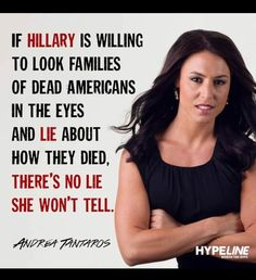 If Hillary is willing to look families of the dead Americans in the eyes and lie about how they died. There's no lie she won't tell. Meryl Streep, Truth Hurts, It Hurts, Out Of Touch, Political Views, Political Quotes, Political Topics, Conservative Politics, We The People