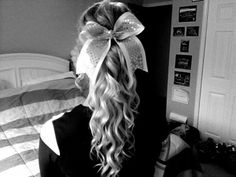 cheer hair, pretty much love it