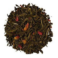 Chá Verde Cherry Rose - talcha How To Dry Basil, Macha Tea, Citrus Fruits, Iced Tea, Rose Petals, Colors