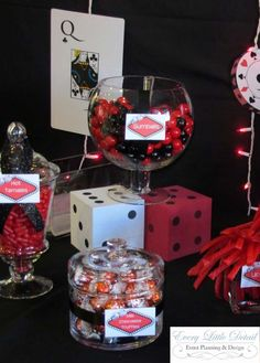 Casino Birthday Birthday Party Ideas | Photo 7 of 26 | Catch My Party