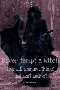 Never Tempt a Witch….The Witch Said What? – Witches Of The Craft® Wiccan Witch, Wicca Witchcraft, Green Witchcraft, Witch Quotes, Arte Obscura, Season Of The Witch, White Witch, Dark Witch, Magic Spells