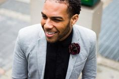 How to Style | Men's African Flower Lapels | Love Lakeri