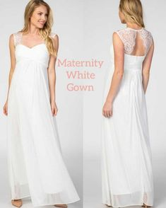Maternity Wedding, Pregnant Wedding Dress, Maternity Wear, Prom Dresses, Formal Dresses, Wedding Dresses, White Gowns, Rehearsal Dinners, Engagement Photos