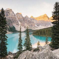 Moraine Lake, Canada. Instagram photo by @reneeroaming • 14.5k likes. www.reneeroaming.com