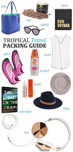 Oh to Be a Muse | Bay Area Fashion Blogger Inspiring Style: Inspiring Style: Tropical Travel Packing Guide